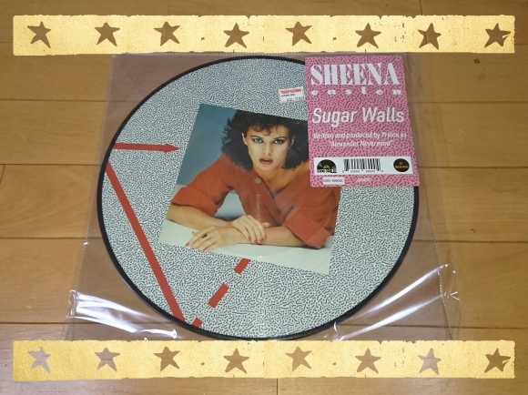 SHEENA EASTON / Sugar Walls (Dance Mix) RECORD STORE DAY 2019 戦利品_b0042308_12102066.jpg