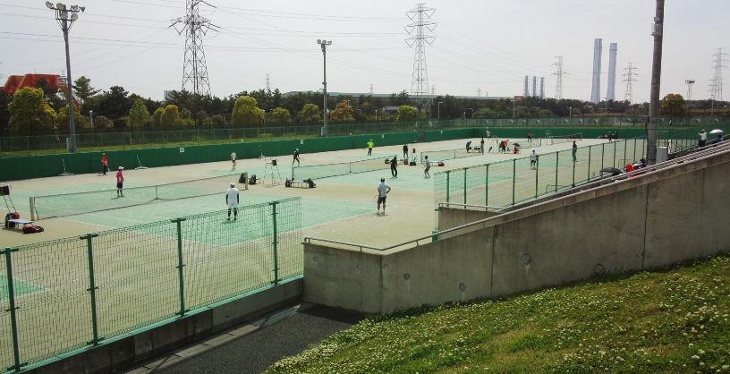 千葉市選手権、ダブルスの部が始まりました_a0151444_16455846.jpg