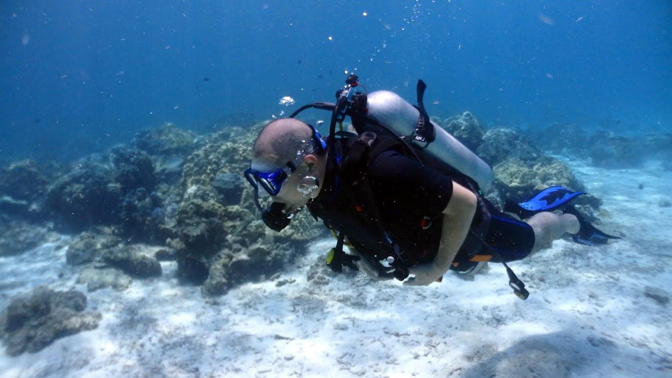 ラチャヤイ島体験ダイビング(*^_^*) FROM北海道_f0144385_18052283.jpg