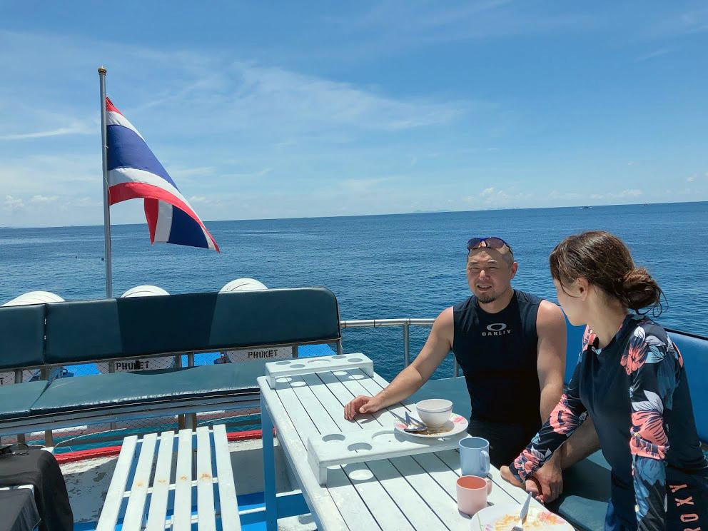 ラチャヤイ島体験ダイビング(*^_^*) FROM北海道_f0144385_18052386.jpg