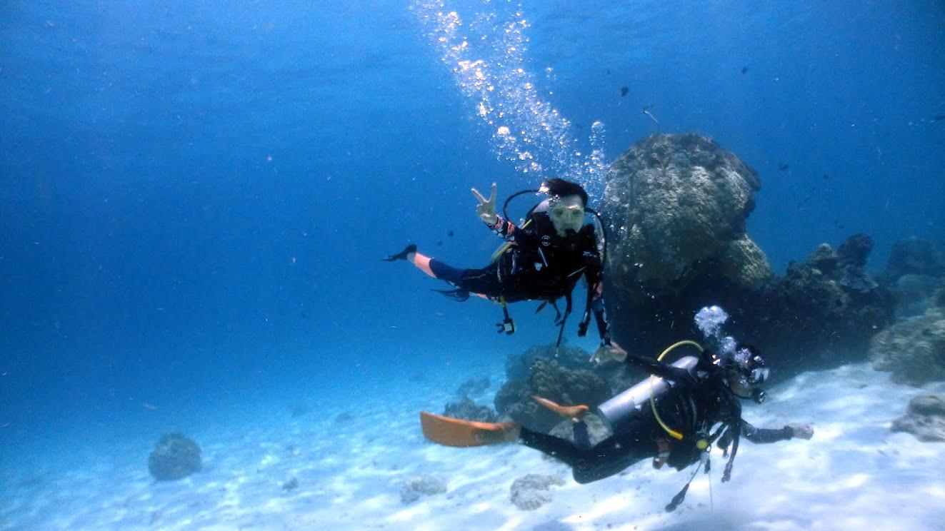 ラチャヤイ島体験ダイビング(*^_^*) FROM北海道_f0144385_18060452.jpg