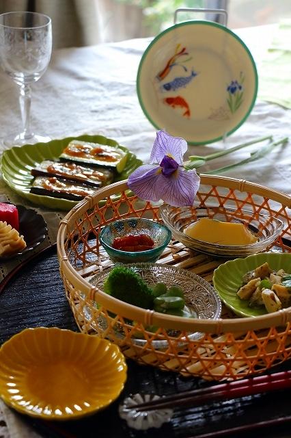 五月の新緑の食卓_f0374092_21485777.jpg