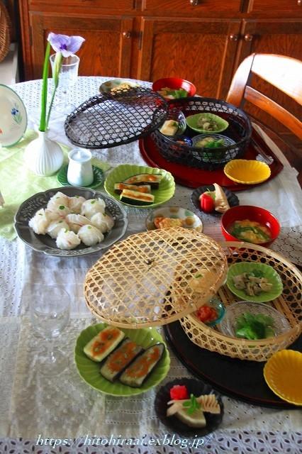五月の新緑の食卓_f0374092_21530454.jpg