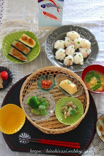 五月の新緑の食卓_f0374092_21534102.jpg