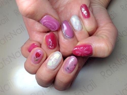 staff new nail(*^^*)_c0294909_17155459.jpg