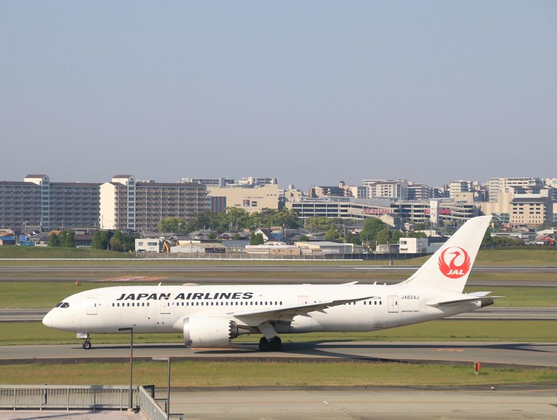 JAL  ボーイング787-8型 伊丹空港_d0202264_21373325.jpg