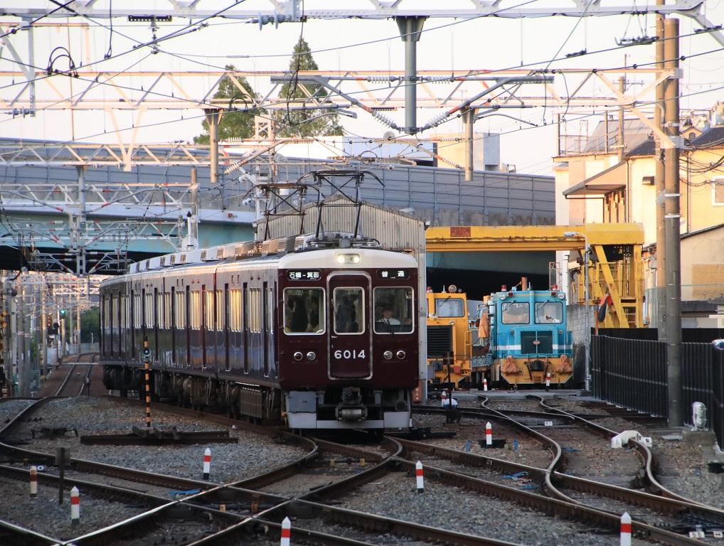 阪急6000系 6014F 箕面線運用_d0202264_21404542.jpg