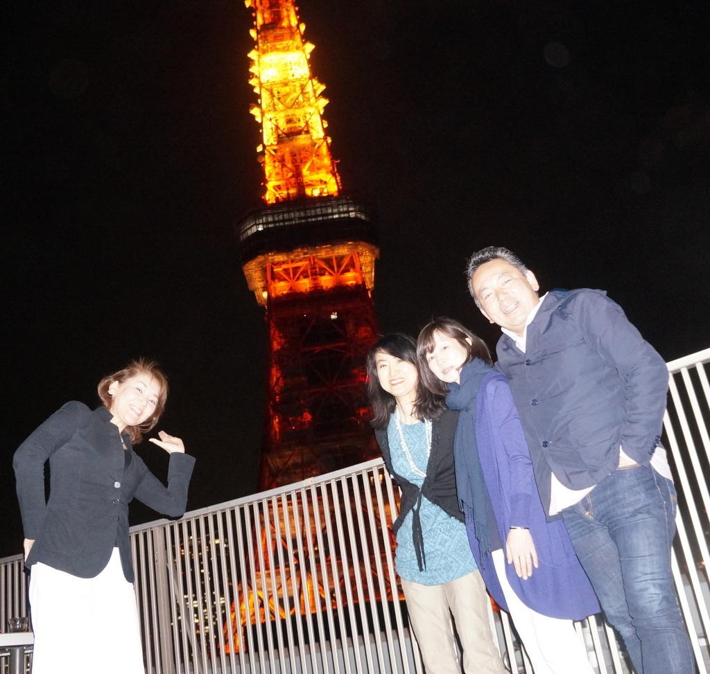 東京タワーと乾杯横浜仲間編 4/23_c0180686_06531029.jpg