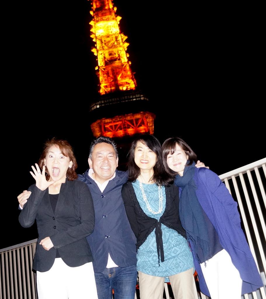 東京タワーと乾杯横浜仲間編 4/23_c0180686_06534745.jpg
