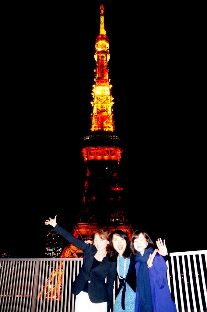 東京タワーと乾杯横浜仲間編 4/23_c0180686_06550732.jpg