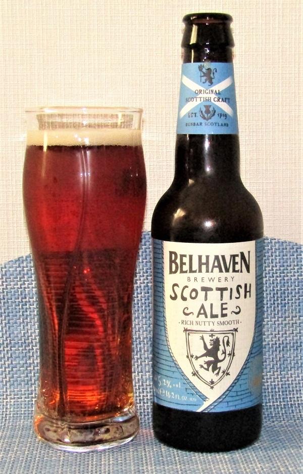 BELHAVEN Scottish Ale~麦酒酔噺その1,129~なんか色々今年の抱負_b0081121_17280459.jpg