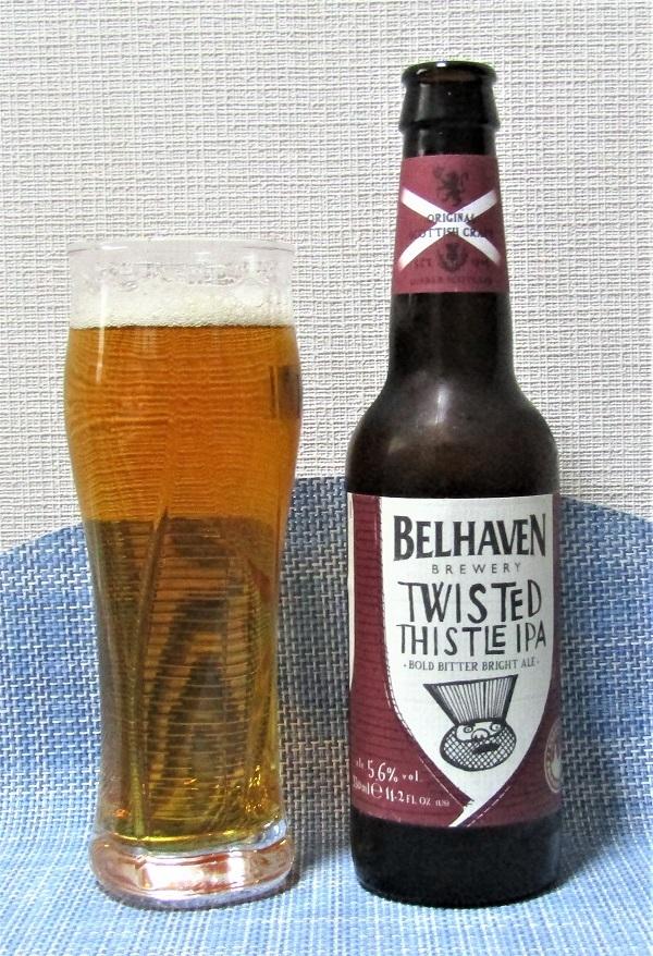 BELHAVEN Twisted Thistile IPA~麦酒酔噺その1,125~国の誇り?_b0081121_17280815.jpg