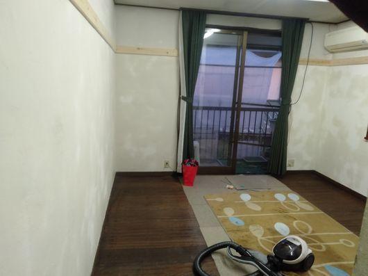 壁塗り開始_c0162128_16041192.jpg