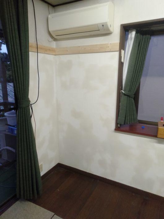 壁塗り開始_c0162128_16041861.jpg