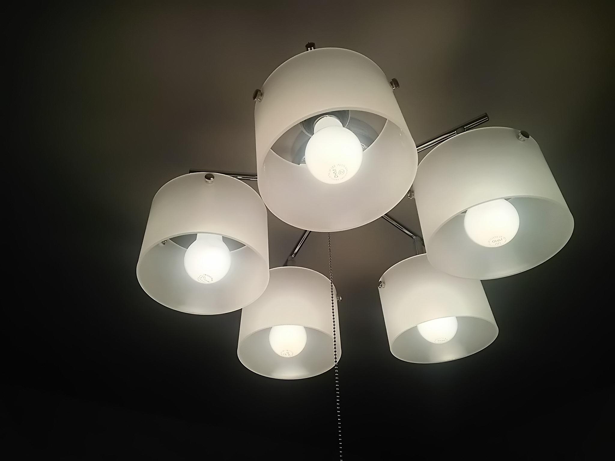 お部屋に灯りがやってきた☆_c0076939_23114516.jpg