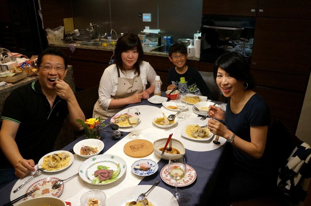 成澤邸にて 4/24_c0180686_15520396.jpg
