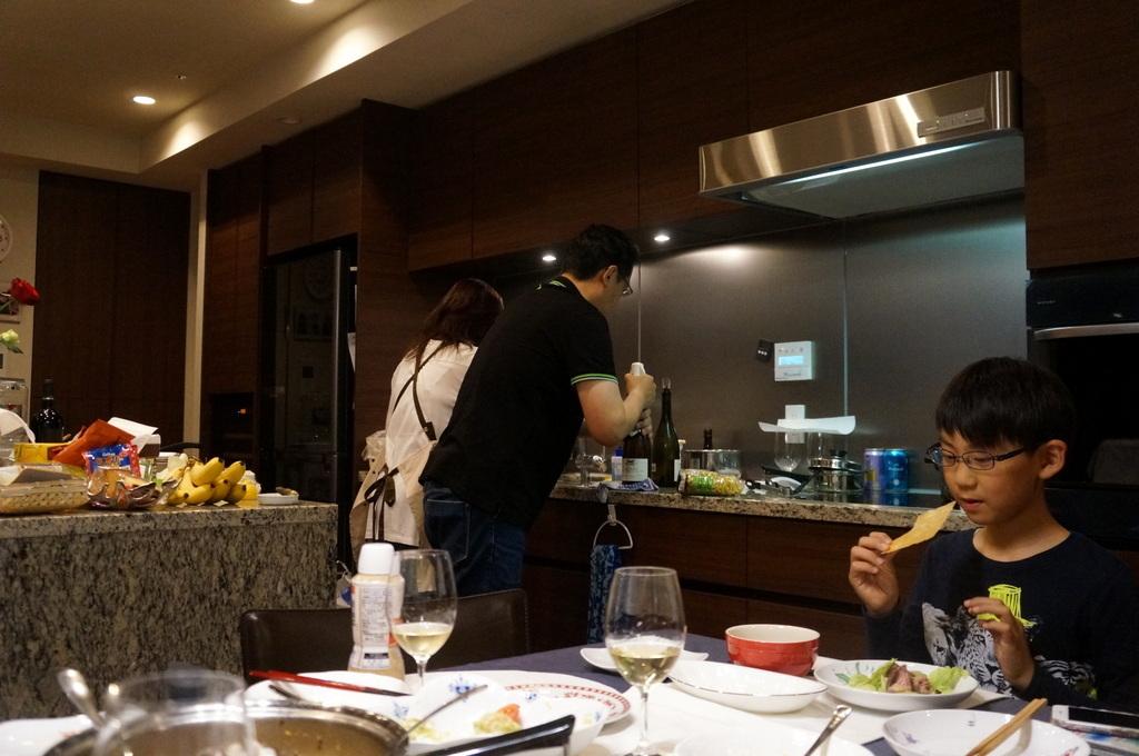成澤邸にて 4/24_c0180686_15522675.jpg