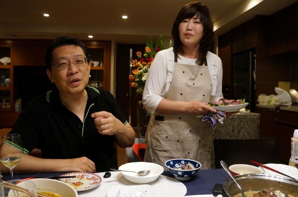 成澤邸にて 4/24_c0180686_15523285.jpg