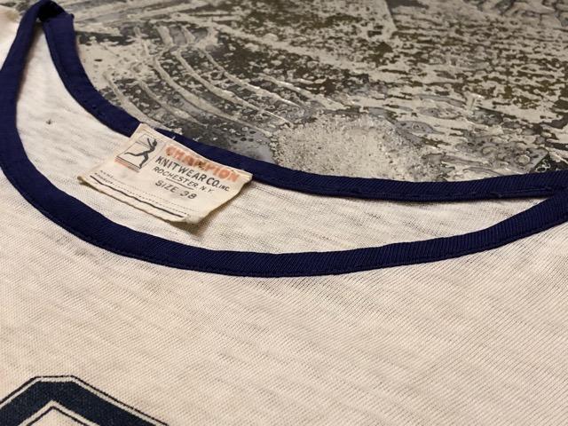 5月8日(水)マグネッツ大阪店、夏ヴィンテージ&スニーカー入荷!! #2 1940\'~60\'s TeeShirt編!! 40\'s Champion & NOS!!_c0078587_23522828.jpg