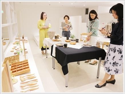 木の器を楽しむテーブル -長岡かやさんの器を使って ~ブラッシュアップクラス_d0217944_00510544.jpg
