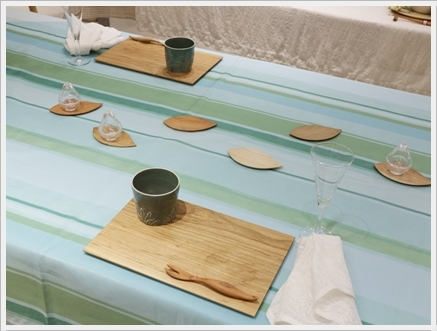木の器を楽しむテーブル -長岡かやさんの器を使って ~ブラッシュアップクラス_d0217944_01211925.jpg