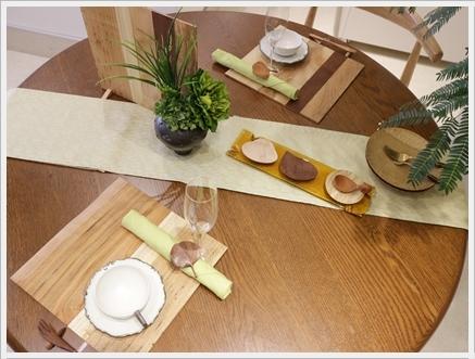 木の器を楽しむテーブル -長岡かやさんの器を使って ~ブラッシュアップクラス_d0217944_01502295.jpg