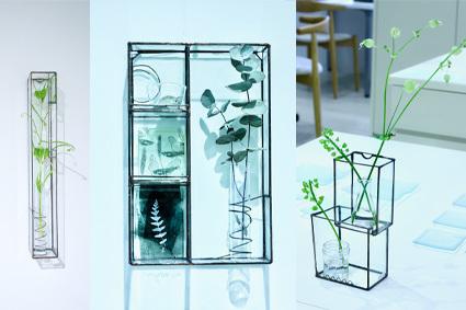 「 松山美恵 植物を楽しむためのガラス展 」 ~ LIFE DESIGN STUDIO 5月展_d0217944_08563402.jpg