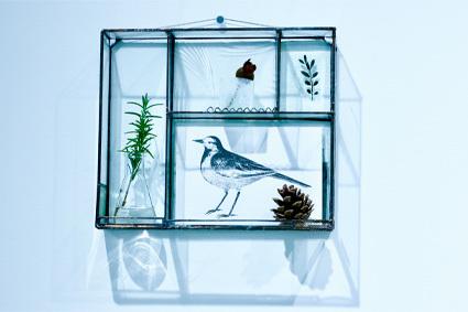 「 松山美恵 植物を楽しむためのガラス展 」 ~ LIFE DESIGN STUDIO 5月展_d0217944_08563965.jpg