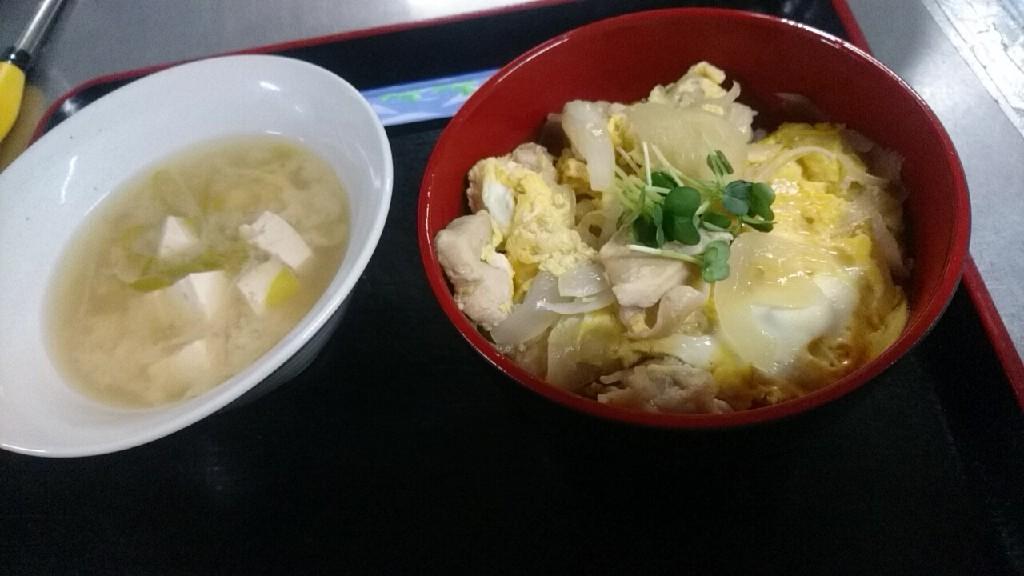 セラピア食堂の親子丼_b0106766_19400216.jpg