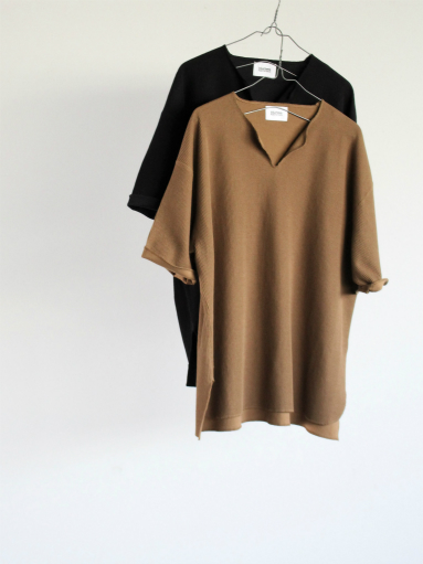 blurhms New Rough&Smooth Thermal Over-Neck S/S_b0139281_18321492.jpg