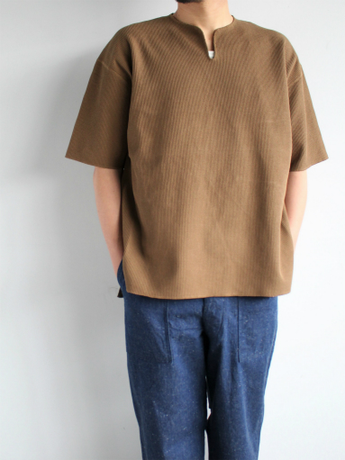 blurhms New Rough&Smooth Thermal Over-Neck S/S_b0139281_18324662.jpg