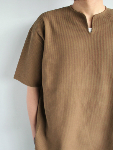 blurhms New Rough&Smooth Thermal Over-Neck S/S_b0139281_18341919.jpg