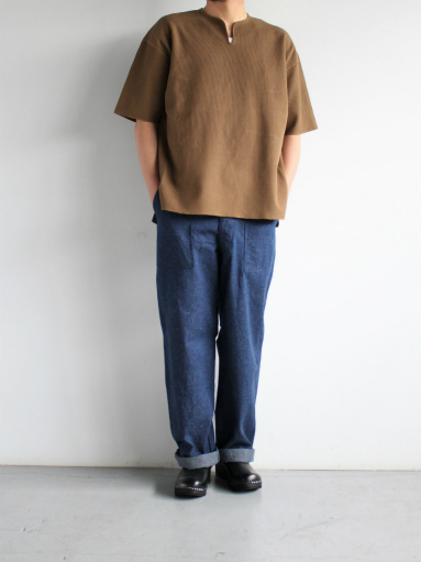 blurhms New Rough&Smooth Thermal Over-Neck S/S_b0139281_18352210.jpg