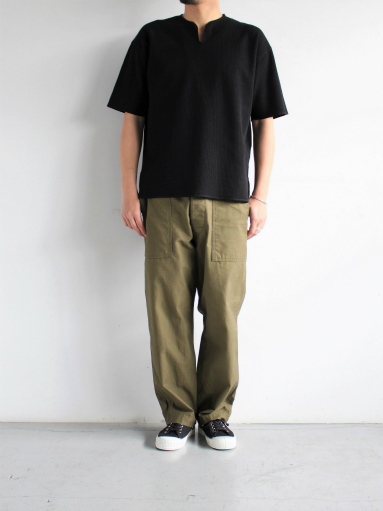 blurhms New Rough&Smooth Thermal Over-Neck S/S_b0139281_18353332.jpg