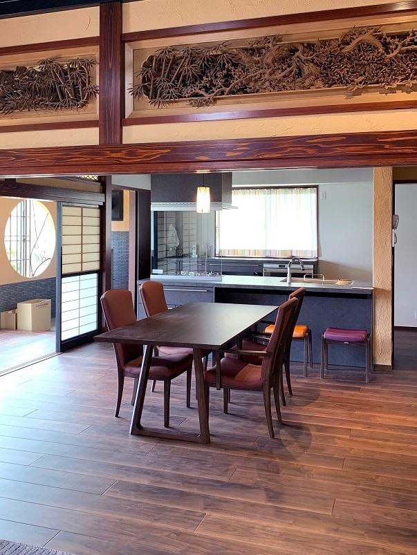 カリモク家具の納品実例 ~古民家リフォーム~_d0224984_15552408.jpg