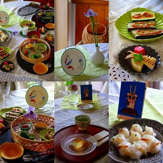 五月の新緑の食卓_f0374092_14323407.jpg