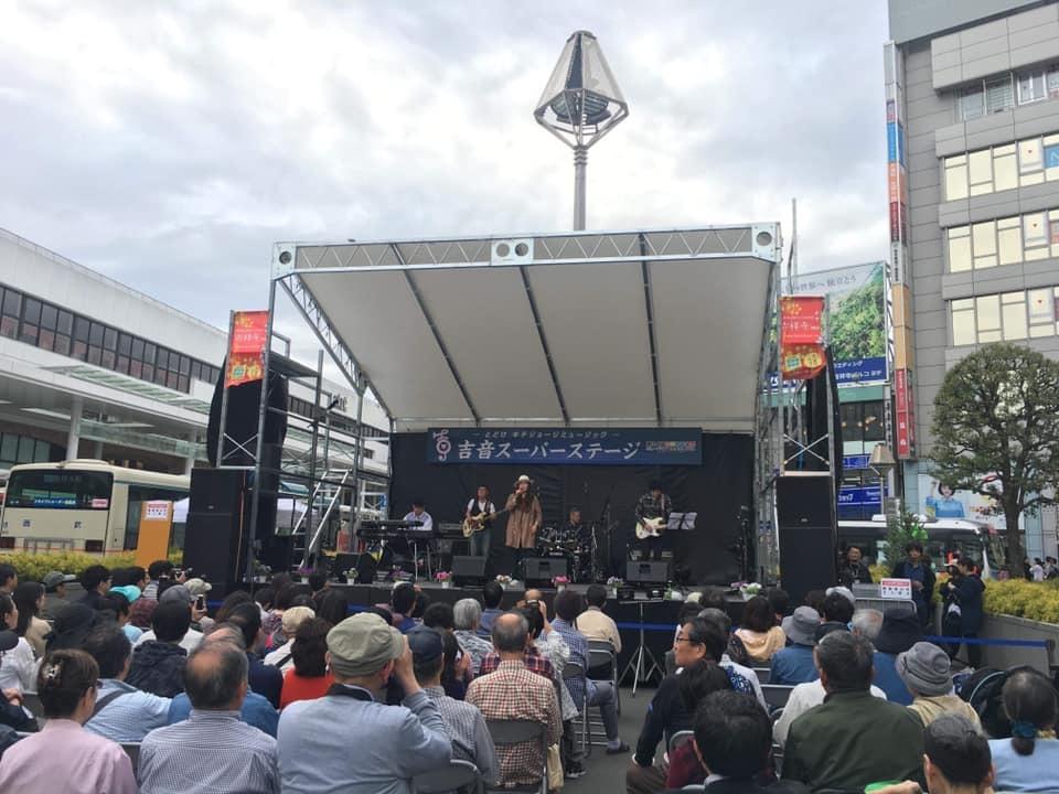 吉祥寺音楽祭ありがとうございました♪→天丼→デモMIX作業_a0088007_22410054.jpg