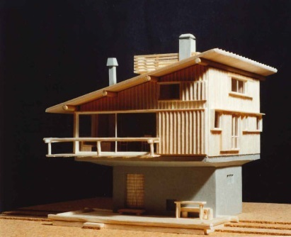 模型 ~軽井沢の山荘~_b0142417_16040277.jpg