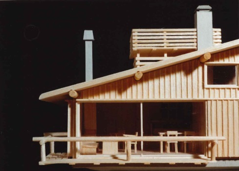 模型 ~軽井沢の山荘~_b0142417_16040880.jpg
