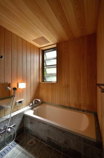 Hさんの家(2009) 浴室の染み抜きメンテナンス 2019/5/2_a0039934_12382752.jpg