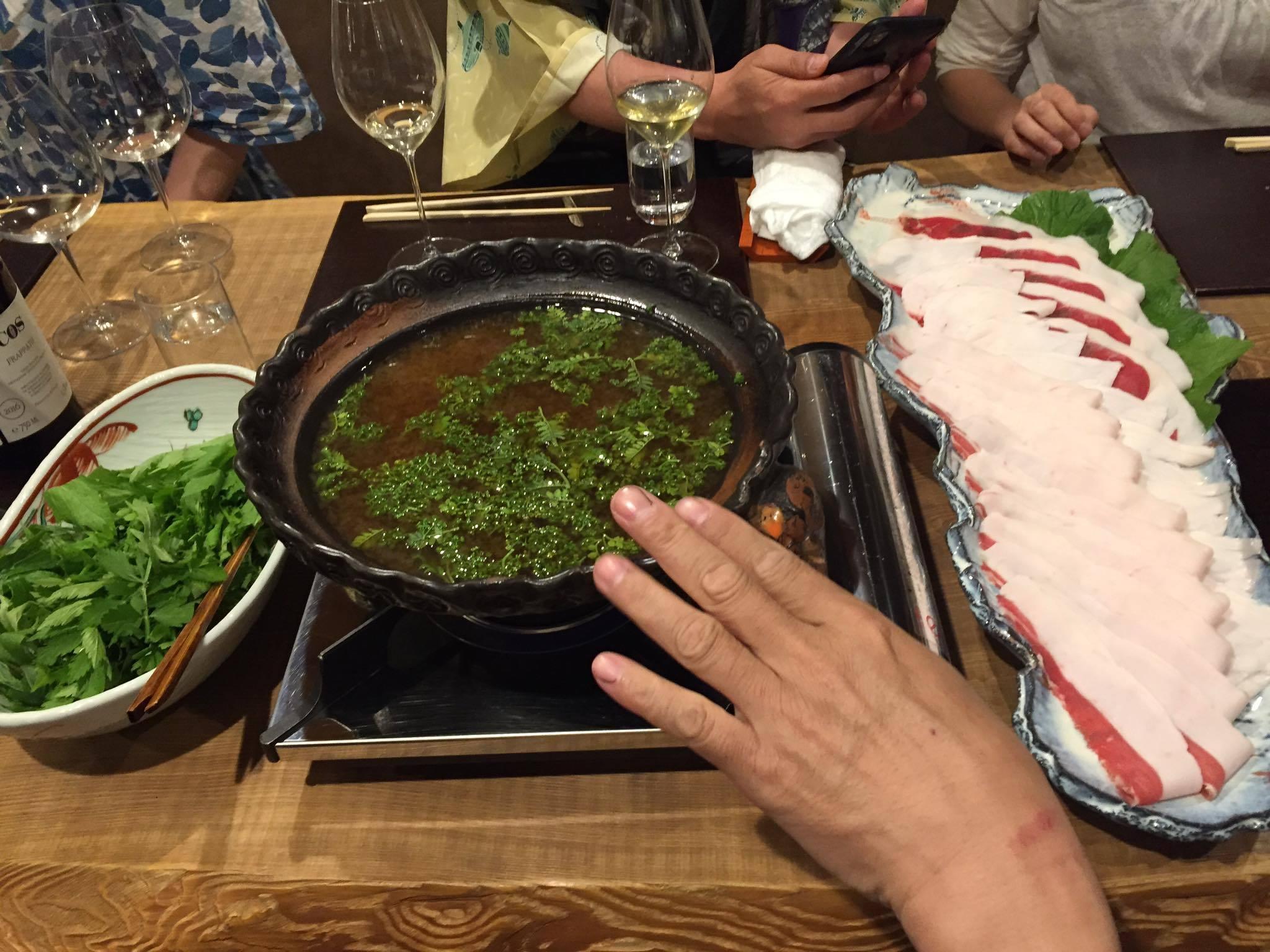 20190507 徳山鮓 熊肉花山椒鍋を味わう_d0145345_21582370.jpg