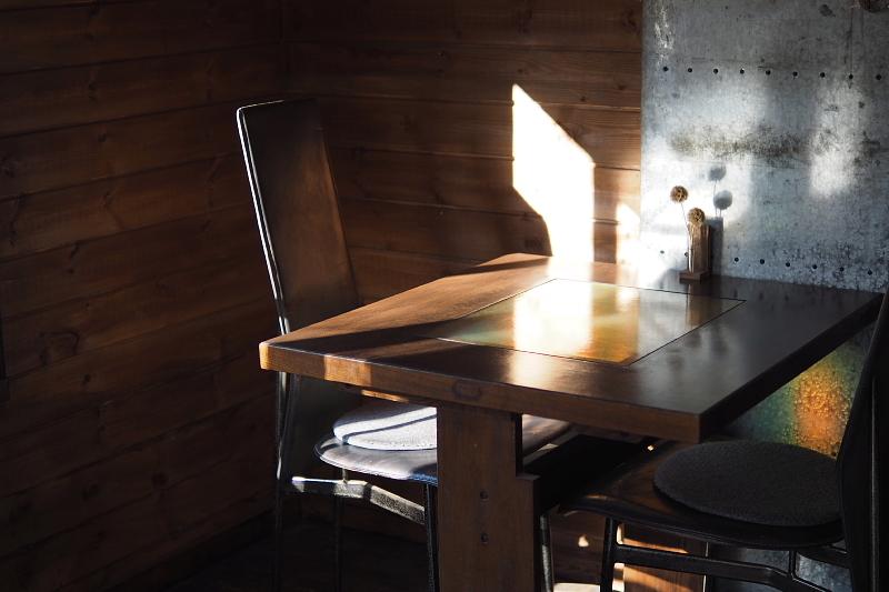 【木漏れ日を味わう】Cafe+Gallery Komorebi @サンタヒルズ_b0008655_12132773.jpg