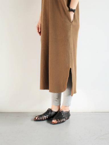 blurhms New Rough&Smooth Thermal Key-Neck Dress_b0139281_13214334.jpg