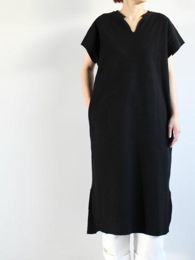 blurhms New Rough&Smooth Thermal Key-Neck Dress_b0139281_1322557.jpg