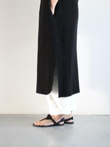 blurhms New Rough&Smooth Thermal Key-Neck Dress_b0139281_13325441.jpg