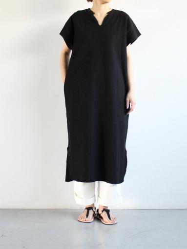blurhms New Rough&Smooth Thermal Key-Neck Dress_b0139281_13392565.jpg