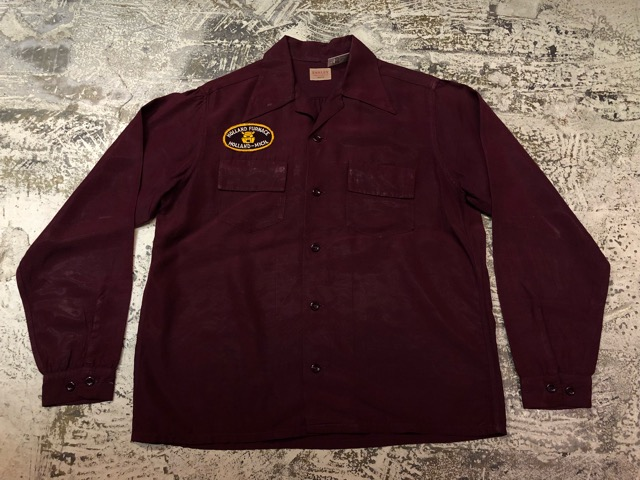 5月8日(水)マグネッツ大阪店、夏ヴィンテージ&スニーカー入荷!! #9 VintageShirt編! 40\'s RopingStitch & BoxShirt!!_c0078587_1533356.jpg