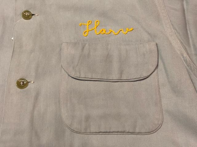 5月8日(水)マグネッツ大阪店、夏ヴィンテージ&スニーカー入荷!! #9 VintageShirt編! 40\'s RopingStitch & BoxShirt!!_c0078587_156855.jpg