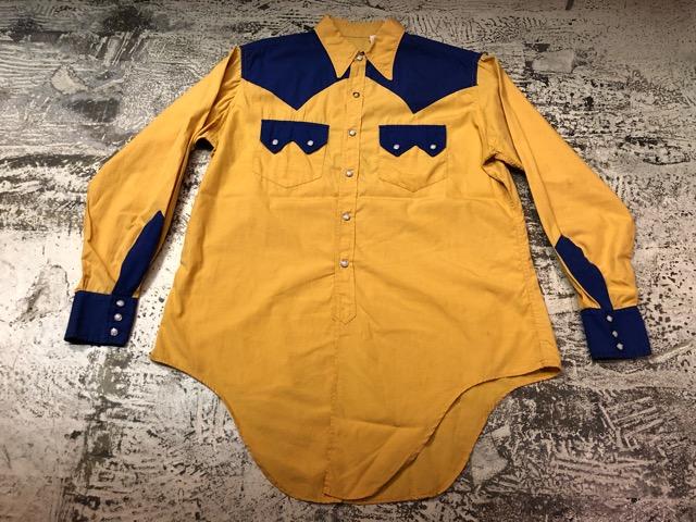 5月8日(水)マグネッツ大阪店、夏ヴィンテージ&スニーカー入荷!! #9 VintageShirt編! 40\'s RopingStitch & BoxShirt!!_c0078587_1571499.jpg