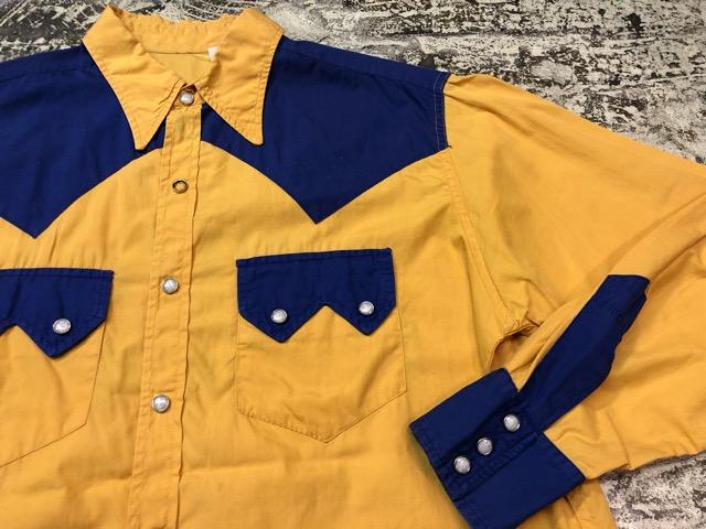5月8日(水)マグネッツ大阪店、夏ヴィンテージ&スニーカー入荷!! #9 VintageShirt編! 40\'s RopingStitch & BoxShirt!!_c0078587_1574047.jpg